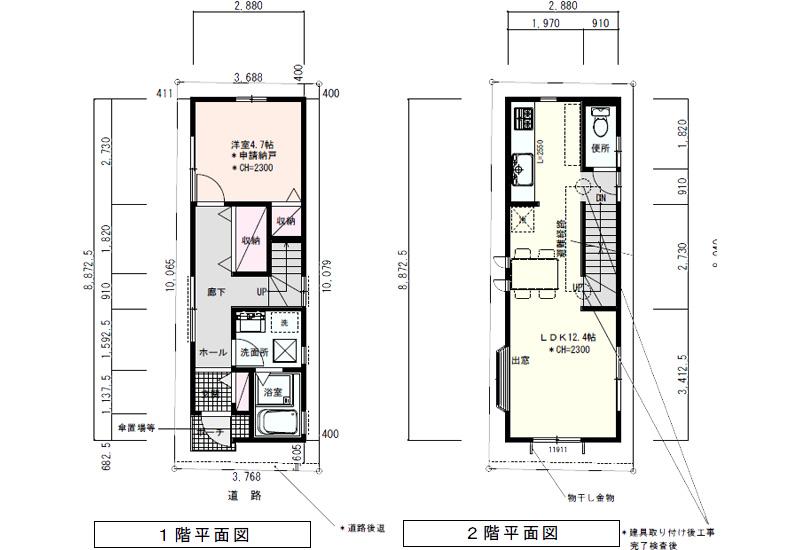 敷地32坪の間取り4LDKの3階建て:東京都内の間取り検索:注文 ...